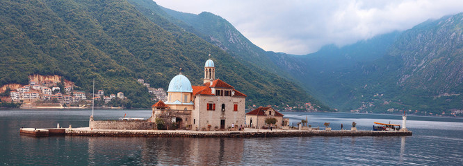 Canvas Prints City on the water Montenegro Budva