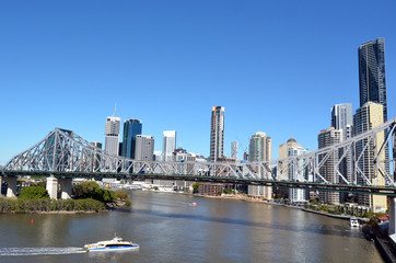 Brisbane Skyline -Queensland Australia