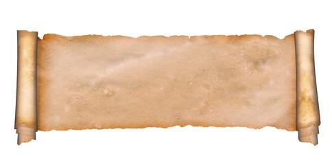 Medieval parchment.