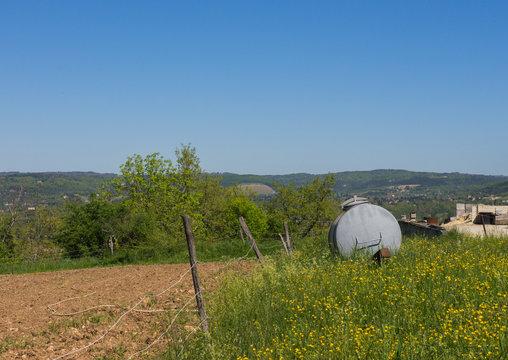 A Farm in a Small Village