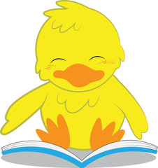 Chick Reading