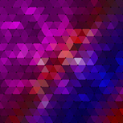 Geometrical Background consisting of triangular elements