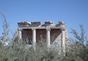 The ruins of the ancient Greek city Miletus in Turkey