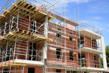 France, a building site in Les Mureaux