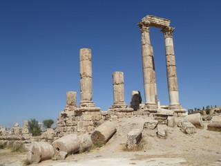 Templo de Hercules, Amman, Jordania