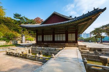 Park of Changgyeonggung Palace, Seoul, South Korea