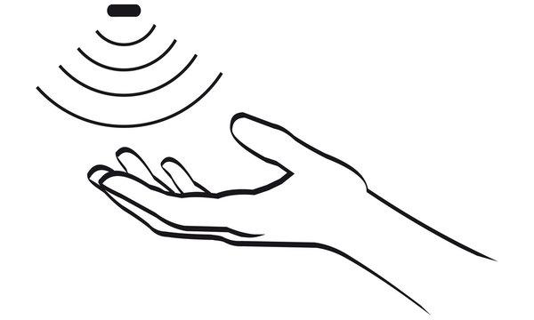 Infrarot Sensor Hand