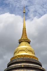 Thai Lanna style ancient pagoda