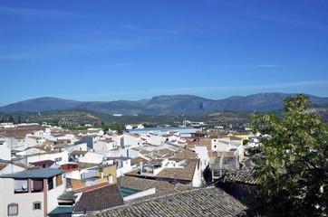 View of Priego de Cordoba, Spain