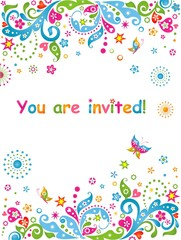 You are invited!