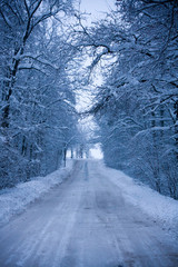Snowy route