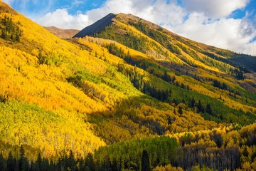 Wall Mural - Fall Hills of Colorado