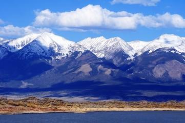 Wall Mural - First Mountain Snow Colorado