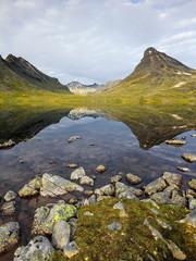 Wall Mural - Norwegia, Joutenheimen, góry, park narodowy