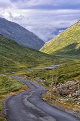 Wall Mural - Norwegia ,  góry, krajobraz wiejski