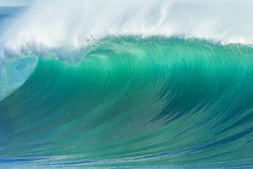 Autocollant pour porte Eau Ocean Wave Scenic Color