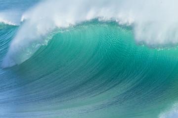 Autocollant pour porte Eau Ocean Wave Crashing Closeup