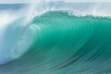Autocollant pour porte Eau Ocean Wave Blue Detail