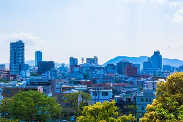 Local urban landscape of Japan