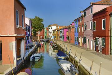 Autocollant pour porte Venise Burano