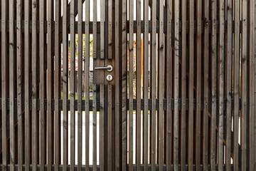 Holztor Eingang
