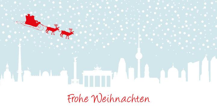 Berlin Weihnachtliche Karte