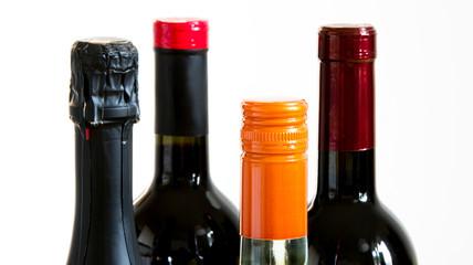 Set of Bottle of white, various types