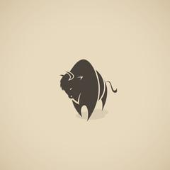 American bison symbol