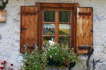 almhüttenfenster