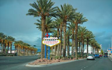 Foto op Plexiglas Las Vegas las vegas sign