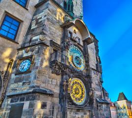Wall Murals Prague Astronomical clock in Prague