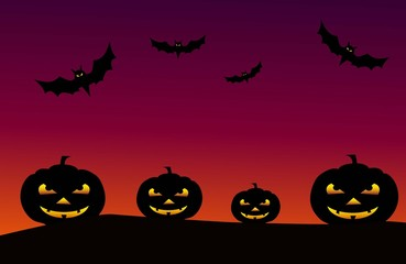 Halloween Background -Vector