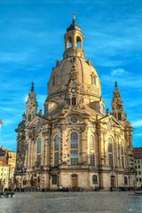 Центральный собор в Дрездене