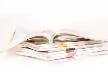 Stacking of magazines