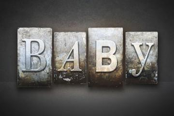 Baby Letterpress Concept