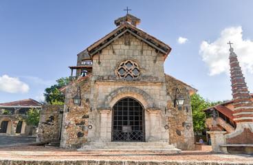 St. Stanislaus Church , Altos de Chavon, La Romana, Dominican Re