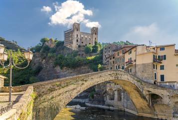 Fotorolgordijn Kasteel Ponte Vecchio