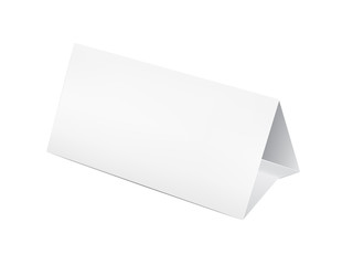 Paper table card
