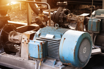 heating system equipment,old equipment