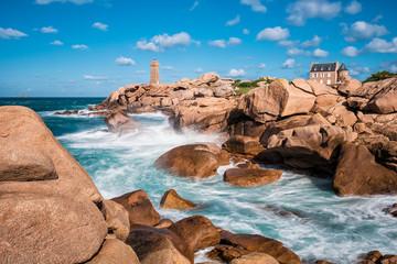 Fototapete - Atlantikküste in der Bretagne