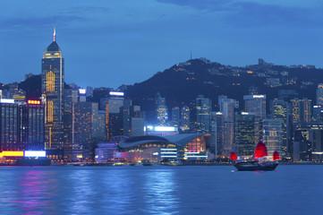 Poster Canada Victoria Harbor of Hong Kong