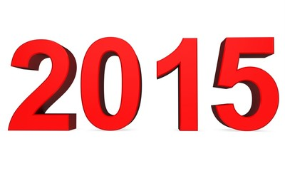 3d Red 2015 year