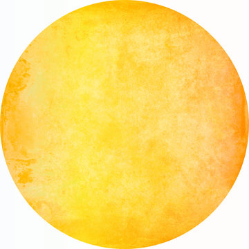 watercolor texture circle