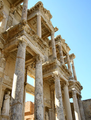 Ancient library in Ephesus,Turkey