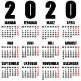 kalender 2020 deutsch stockfotos und lizenzfreie bilder. Black Bedroom Furniture Sets. Home Design Ideas
