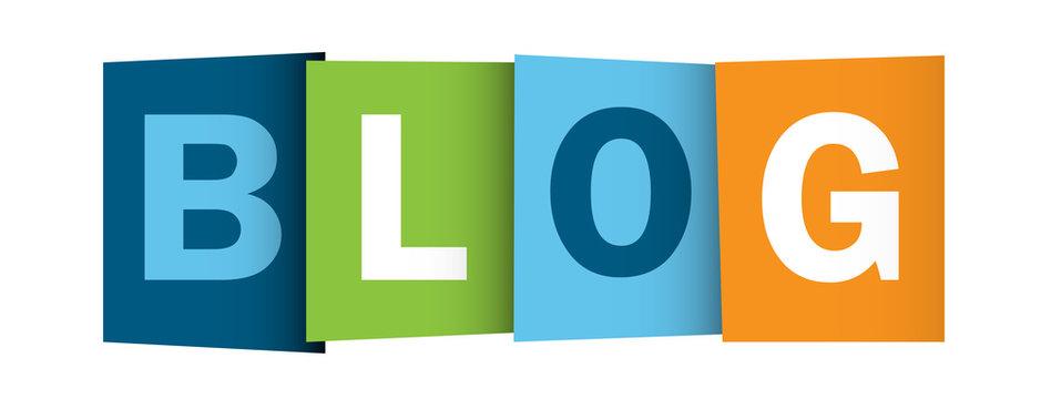 """""""BLOG"""" buttons (news online website web internet news like)"""