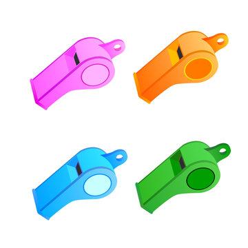 vector icon whistle