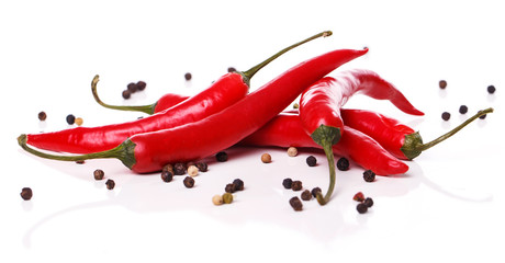 In de dag Hot chili peppers Red chili pepper