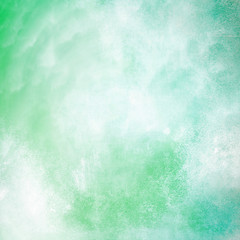 Green abstract grunge background texture