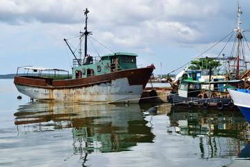 Reifes Fischerboot